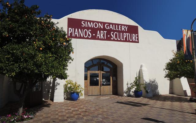 Simon Gallery Exterior