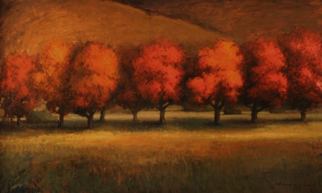 A Grove of Reds