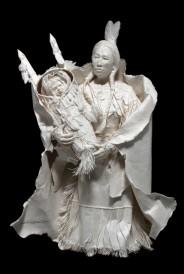Lakota Woman with Child
