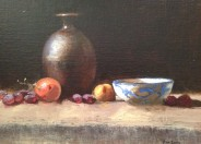 Still Life With Brown Vase