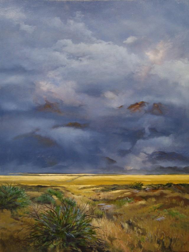 Storm Over the Sacramento Mountains