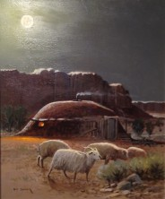 The Navajo Moon